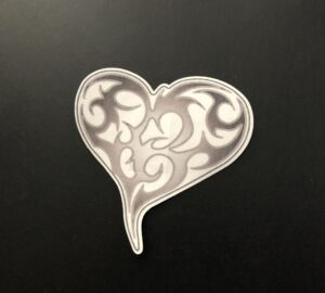 Tribal Heart Designed precut adhesive patch to secure all diabetic devices