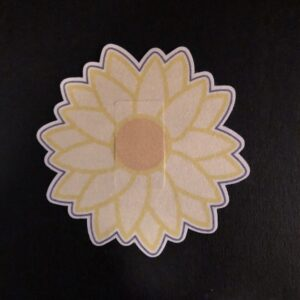 Daisy Designed precut adhesive patch to secure all diabetic devices
