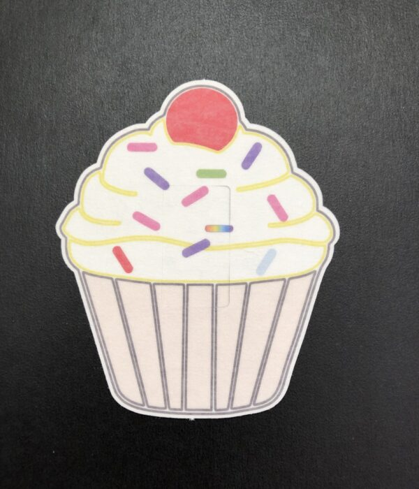 Cupcake Designed precut adhesive patch to secure all diabetic devices
