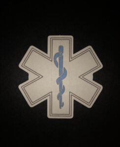 Star of Life Designed precut adhesive patch to secure all diabetic devices