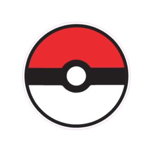 Pokeball Designed precut adhesive patch to secure all diabetic devices
