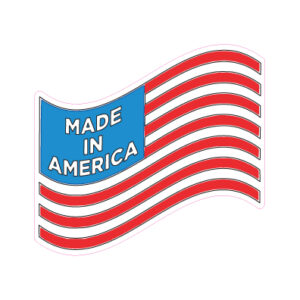 American Flag Designed precut adhesive patch to secure all diabetic devices